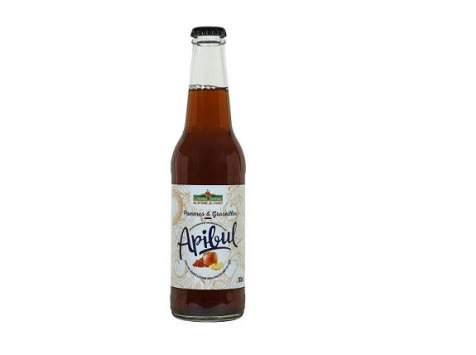 Les Côteaux Nantais - Apibul Pommes Groseilles 33cl Bio