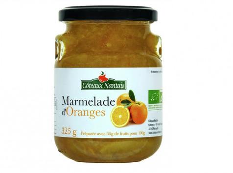 Les Côteaux Nantais - Marmelade D'oranges 325g
