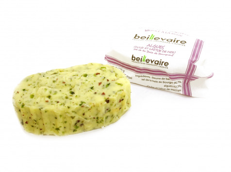BEILLEVAIRE - Préparation de beurre travaillé aux Algues