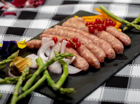 La ferme Grandvillain - Saucisses De Poulet - Nature - 6 X 60 G