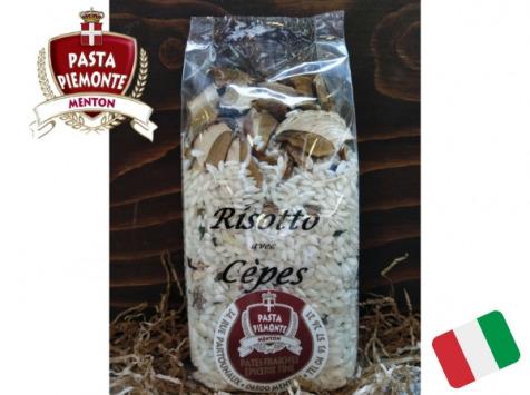 PASTA PIEMONTE - Risotto Carnaroli Aux Cèpes