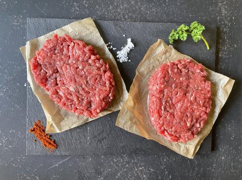 Champ Roi des Saveurs - Steaks hachés de Boeuf de race Limousine Label Rouge 15% mg x 2 - 360 g