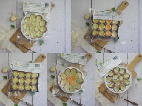 Limero l'Escargot Mayennais - Assortiment d'escargots : Lot de 5 Assiettes de 12 Escargots gros gris (feuilletés, croquilles, coquilles)
