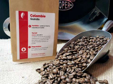 Brûlerie de Melun-Maison Anbassa - Café Quindio-colombie-mouture Moyenne