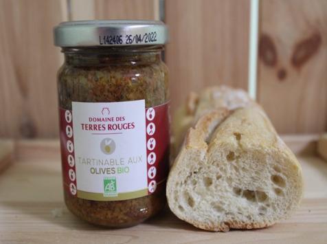 Domaine des Terres Rouges - Tartinable aux Olives BIO 120 g