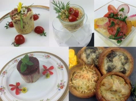 Christian Piot - Votre chef en ligne - Panier repas menu  d'Août «tout tomate» 2 personnes.