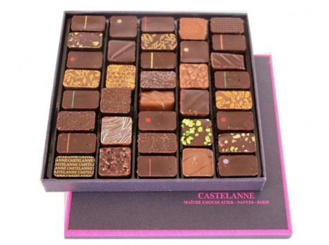 Maison Castelanne Chocolat - Coffret Assortiment Maison 36 Chocolats