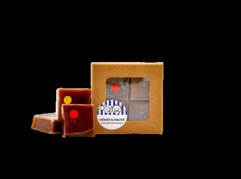 Mômes & Malice - Mini Tablettes Caramômes - Pavés Tendres (2 Saveurs)