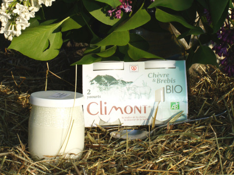 Laiterie du Climont - K-Philus - Lot De 12 Yaourts Chèvre - Brebis