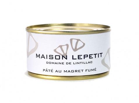 Maison Lepetit - Pâté Au Magret De Canard Fumé