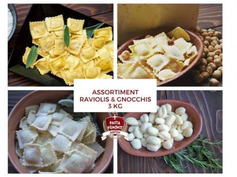 PASTA PIEMONTE - Assortiment De Raviolis et Gnocchi Pasta Piemonte - 3kg