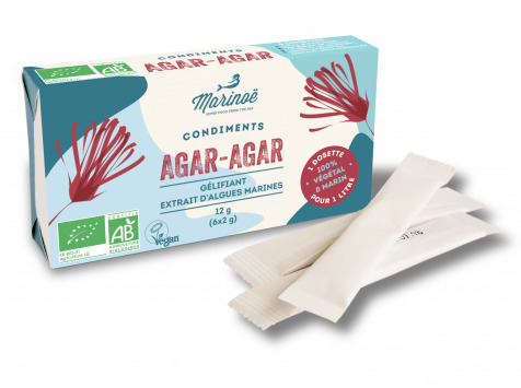 Marinoë - Agar-agar en sachet 6x2g