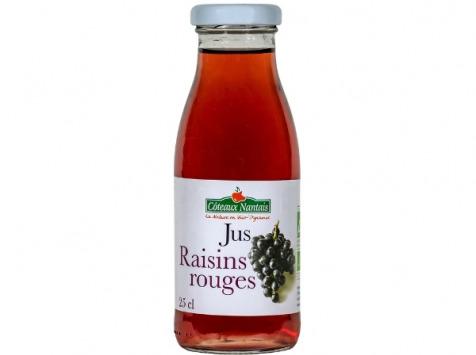 Les Côteaux Nantais - Jus Raisins Rouges 25 cl