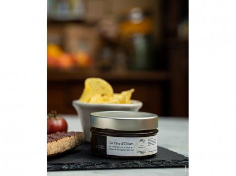La Maison du Citron - Pâte aux olives de Nice AOP et Citron de Menton IGP - 130 gr