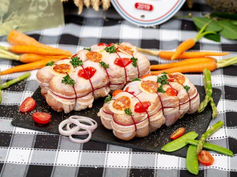 La ferme Grandvillain - Rôti De Poulet Chorizo Et Emmental 800 G