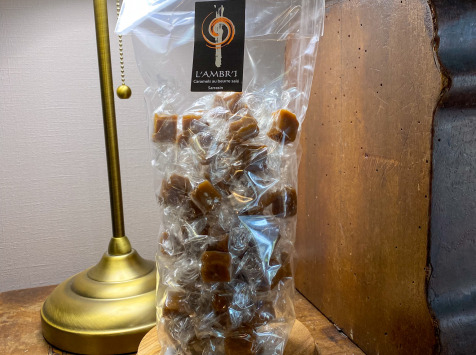 L'AMBR'1 Caramels et Gourmandises - Caramel Au Sarrasin - Sachet De 300g