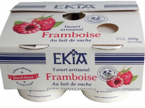 BASTIDARRA - Yaourt Framboise Brassé 4*125 gr