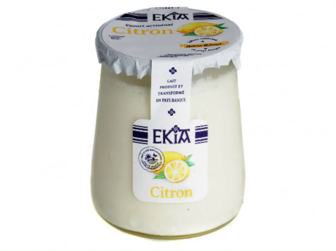 BASTIDARRA - Yaourts Citron - 8 Pots