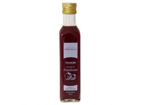 Domaine des Terres Rouges - Vinaigre À La Pulpe De Framboise 25cl