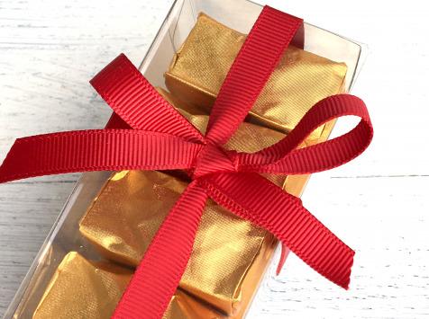 Déclinaison Chocolat - Marrons Glacés En Coffret Cristal De 7
