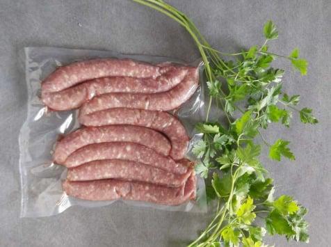 La Ferme du Vayssaïre - Saucisses- Chipolatas de Bœuf Aubrac - Lot de 6