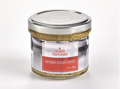 La Tarte Tropézienne - Tapenade d'olives vertes