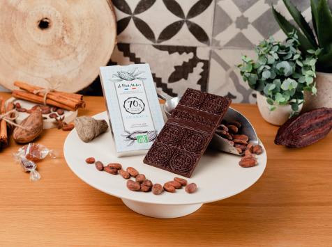 Le Petit Atelier - Tablette De Chocolat Noir Bio 70% Guaraca