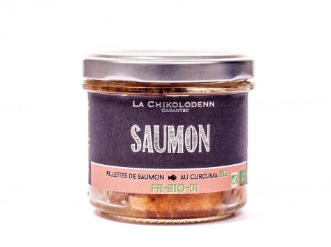 La Chikolodenn - Rillettes De Saumon Bio Au Curcuma Bio