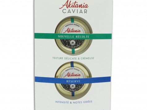 Akitania, Caviar d'Aquitaine - Coffret Découverte Akitania 2x10g