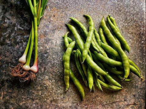 La Ferme d'Artaud - 3 Kg de fèves + 1 Kg d'ail frais