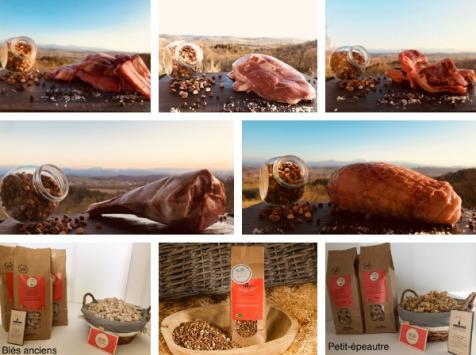 Du bio dans l'assiette - [Précommande] Offre Pâques : Colis Agneau Fermier Bio 4kg + Accompagnements Offerts