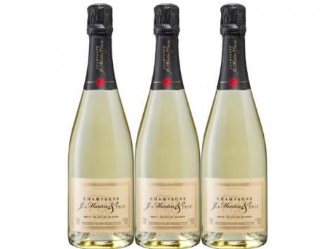 Champagne J. Martin et Fille - Blanc de Blancs Brut 3x75cl