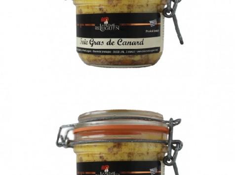 La Ferme du Luguen - Foie Gras De Canard Entier – 1 Acheté, Le 2ème À -50% - Semi Conserve – 120g