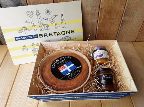 Gourmets de l'Ouest - Coffret cadeau Kouign amann