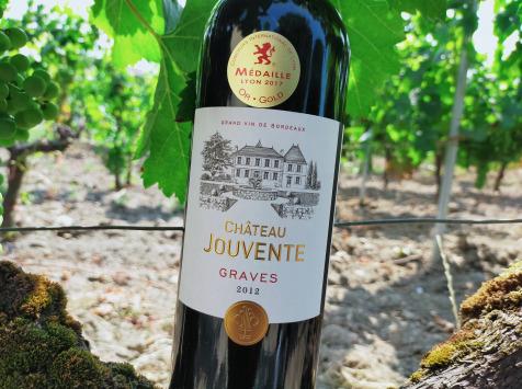 Château Jouvente - Château Jouvente AOC Graves Rouge 2012 -1 Bouteille de 75 cl