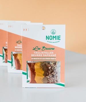 Nomie, le goût des épices - Les Suaves. Mélange Pour Tagliatelles Beurre Safrané