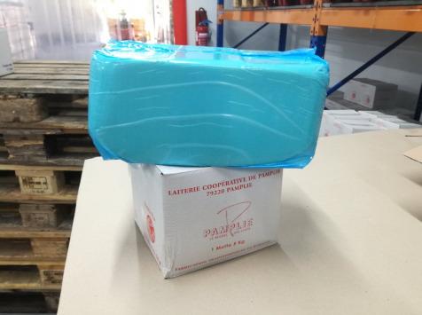 Laiterie de Pamplie - Beurre Pasteurisé Doux Aop Charentes-poitou - cube 10kg