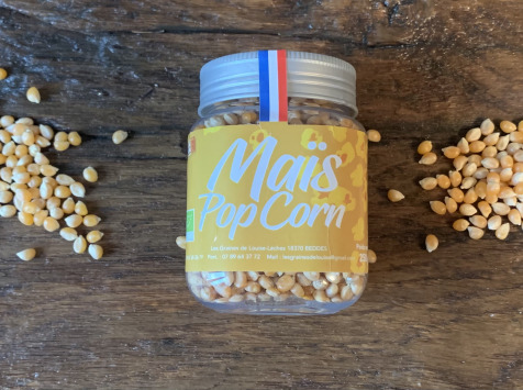 Les Graines de Louise - Maïs Pop-corn Biologique