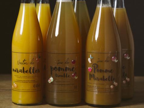 La Ferme des Prun'Elles - Lot De 6 Jus De Fruit