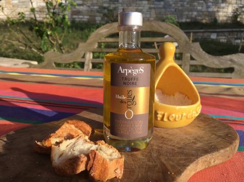 Huile des Orgues - Huile d'Olive Parfumée aux Truffes Noires - 100 ml