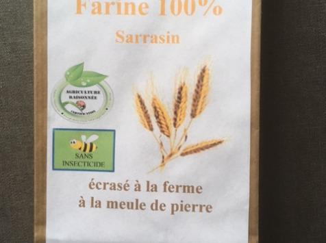 FARINE DE LA TUILERIE - Farine de Sarrasin - 500 gr