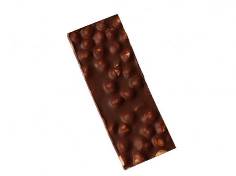 Maison Le Roux - Tablette Chocolat au Lait & Noisettes 43% Cacao