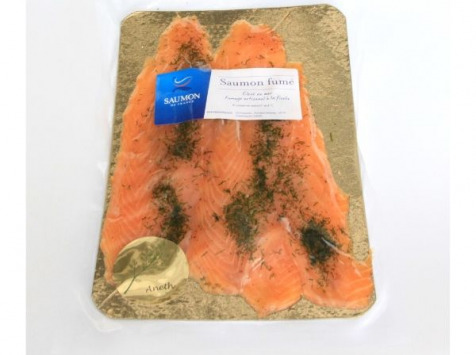 Saumon de France - Saumon de France mariné à l'aneth - 4 tranches - 180 g