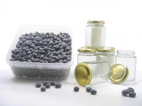 La Ferme des petits fruits - Coffret DIY - confitures de myrtille (pack complet sucre + pots)