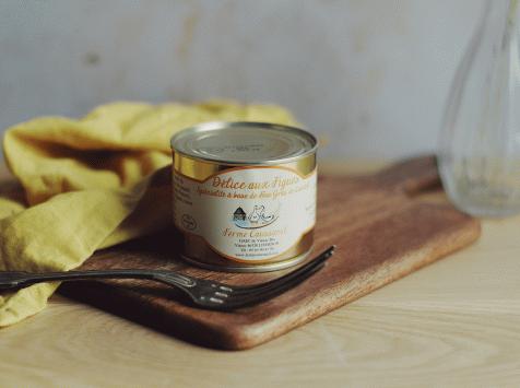 Ferme Caussanel - Délice Aux Figues : pâté de foie aux figues