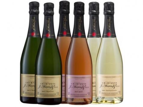 Champagne J. Martin et Fille - Carton Découverte - 6x75cl