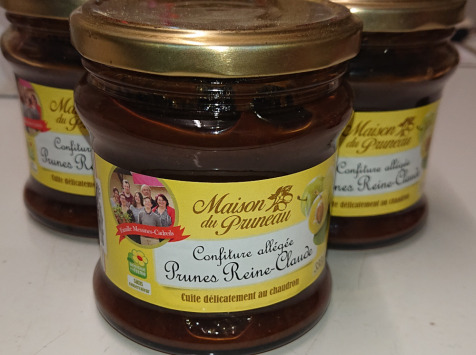 Maison du Pruneau - Lot De Confiture De Prune Reine Claude