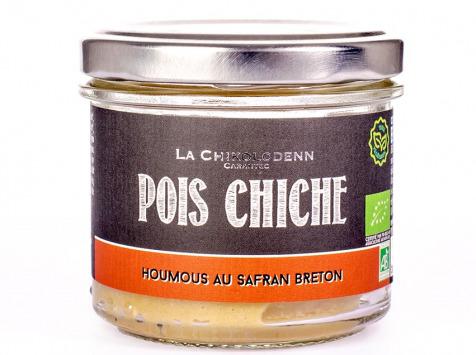 La Chikolodenn - Tartinable de pois chiche préparé et épicé au safran cultivé dans le Finistère