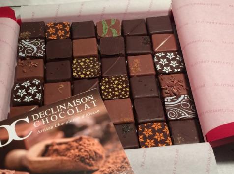 Déclinaison Chocolat - Coffret Dégustation 36 Chocolats
