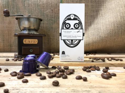 Cafés Factorerie - Capsules Papouasie Nouvelle Guinée - 10 capsules
